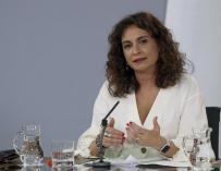 Fotografía María Jesús Montero, ministra de Hacienda