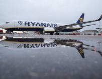 Fotografía de Ryanair para portada
