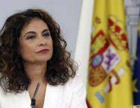Fotografía María Jesús Montero ministra de Hacienda