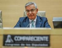Sánchez Corbí, en el Congreso.