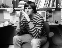 Steve Jobs en los primeros años 80.