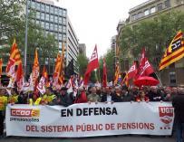 Protestas para garantizar las pensiones