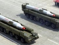 Corea del Norte amenaza con responder al fracaso de su cohete