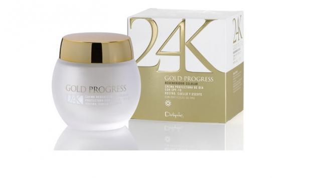 Cremas antiedad protectora de día 24K Gold Progress