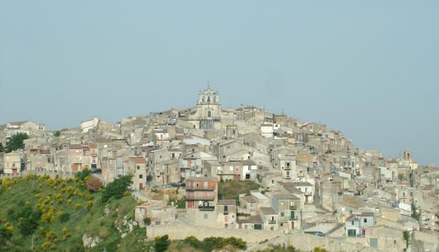 Fotografía de Mussomeli (italia).