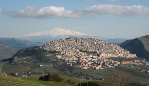 Fotografía de Gangi (Italia).