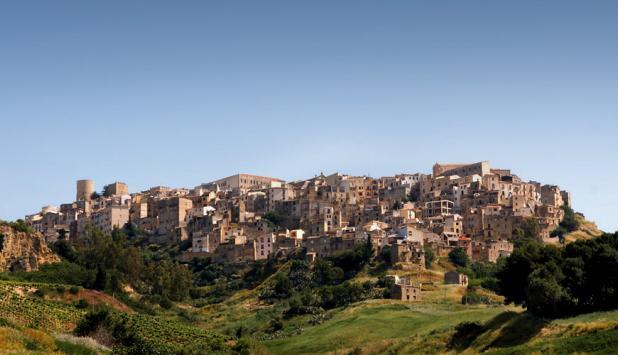 Fotografía de Salemi (Italia).