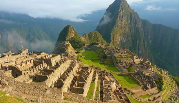 Fotografía del Machu Picchu en Perú.