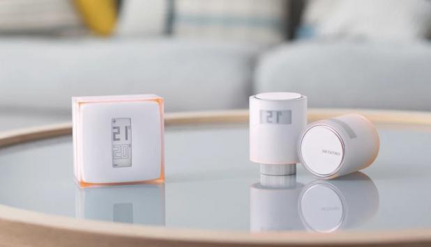 Imagen de un termostato Netatmo