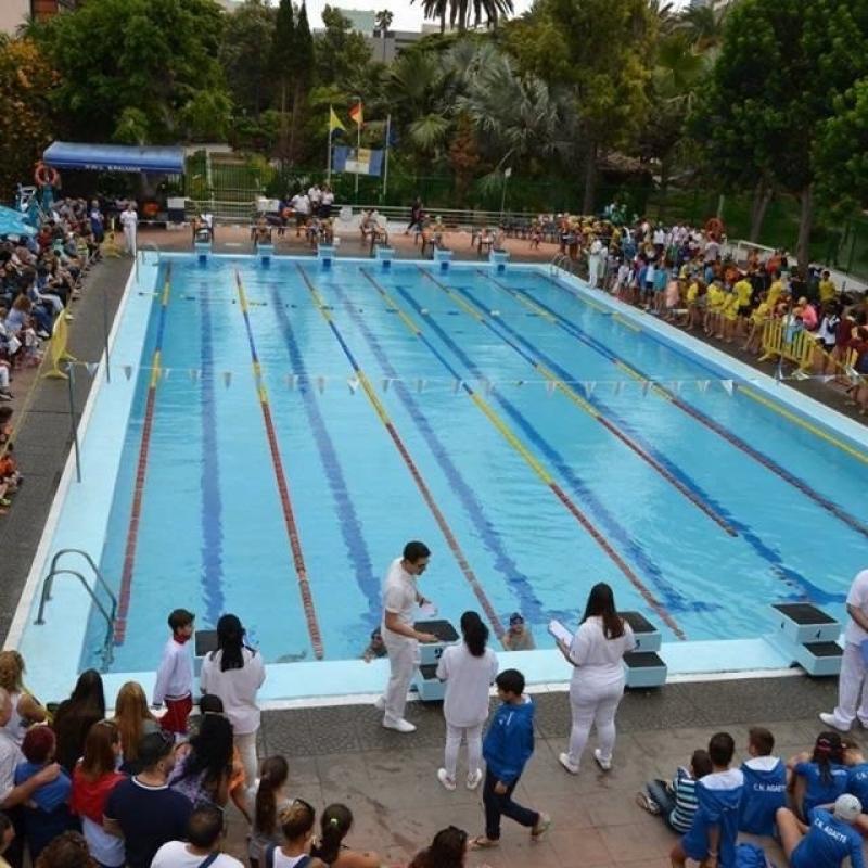 El club nataci n las palmas podr continuar en las for Piscina julio navarro