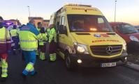 Recibe el alta la única menor del accidente del accidente de Fuenlabrada que seguía ingresada en el hospital