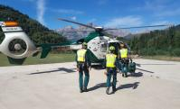 La Guardia Civil realiza cinco rescates este sábado en el Pirineo oscense