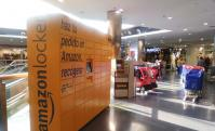 Estación de Amazon Locker en Valencia.