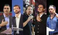 Candidatos debate 10-N