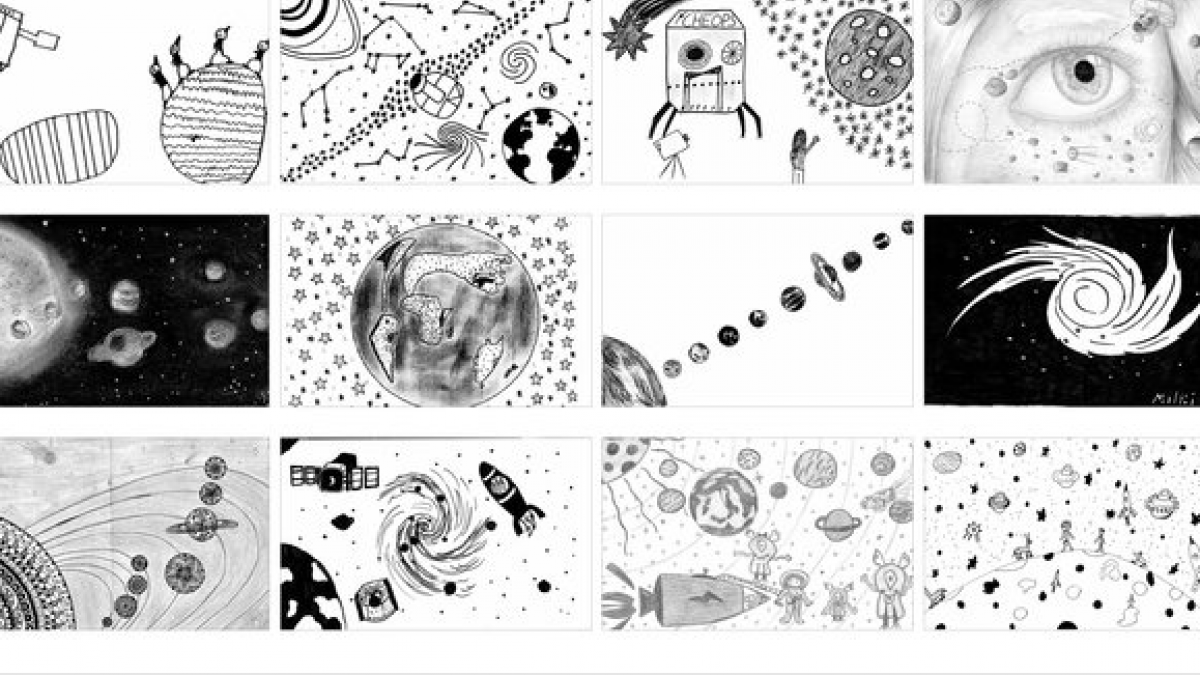 3000 Dibujos Son Elegidos Para Viajar Al Espacio A Bordo Del