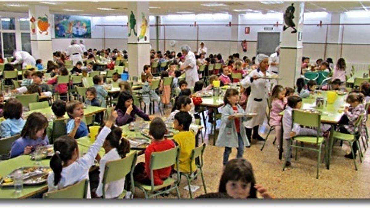 El 2 4 de los menores valencianos que asiste a comedores - Empresas de comedores escolares valencia ...