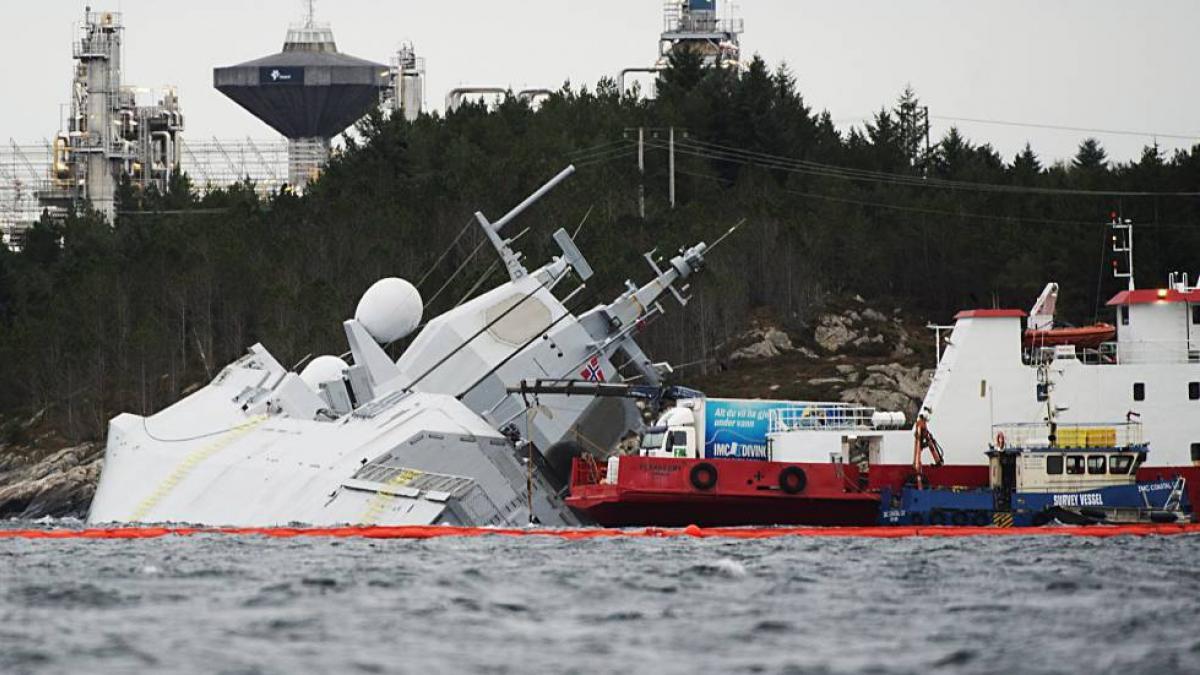 Noruega achaca el colapso de la fragata a una cadena de errores y exime a Navantia